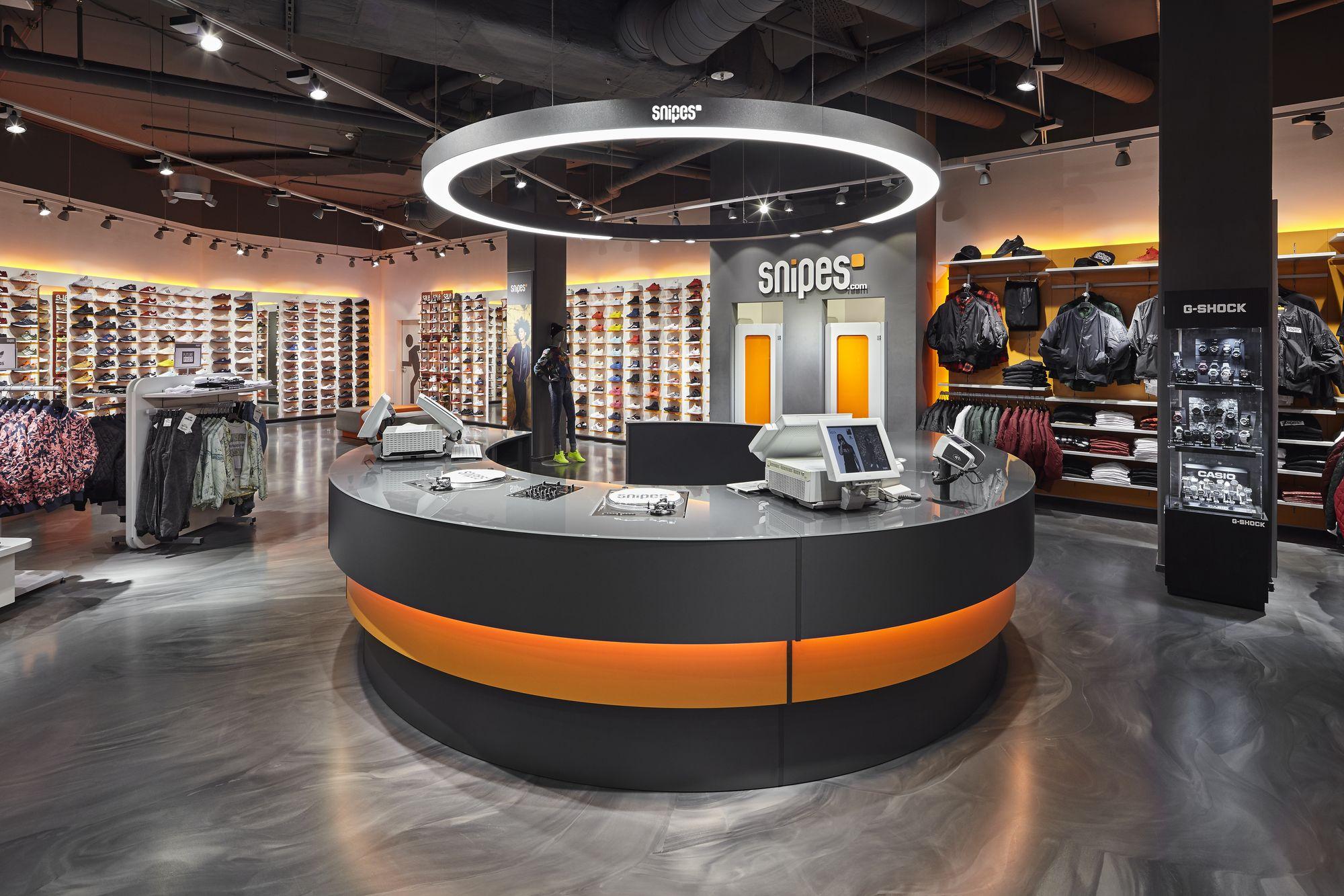Snipes Store Essen Deutschland Prolicht Projekt