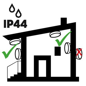 IP44 APPLICATIONS